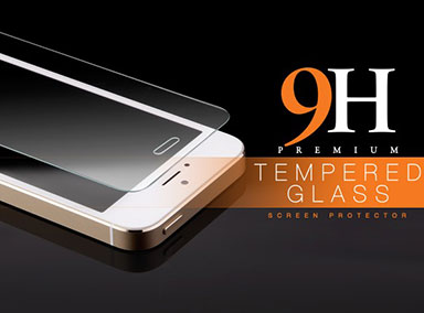 9H Edzett üveg iPhone 5/5S/5C