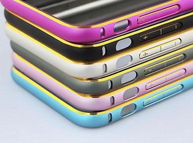 Alu Bumper Gold Edge iPhone 6