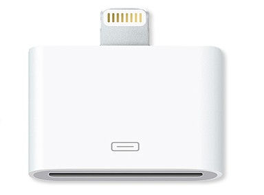 Apple Lightning - 30 pin Adapter