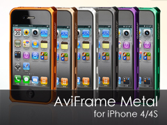 AviFrame Metal iPhone 4S/4 bumper