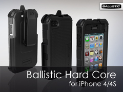 Ballistic Hard Core (HC) Series iPhone 4/4S tok