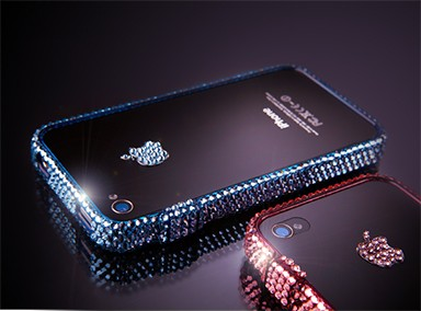 BlingFrame Swarovski iPhone 4s/4 tok