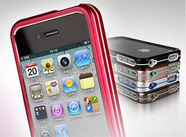 Bumper Metal iPhone 4/4s tok