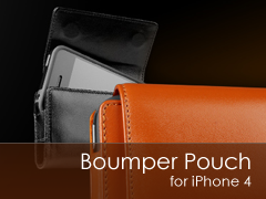 Sena Bumper Pouch iPhone 4 br tok