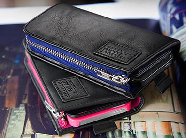 Carri Zipper Wallet iPhone 5s/5 tok