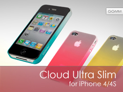 Cloud Ultra Slim iPhone 4S/4 tok