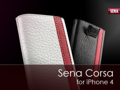 Sena Corsa iPhone 4 tok