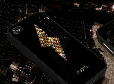 Cubic Black Exclusive Plus iPhone 4/4s tok