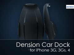 Dension Car Dock iPhone