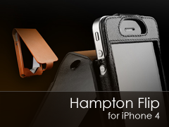 Hampton Flip iPhone 4 br tok