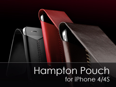 Hampton Pouch iPhone 4 tok