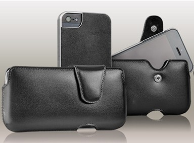 Laterale Duo Pouch iPhone 5S/5