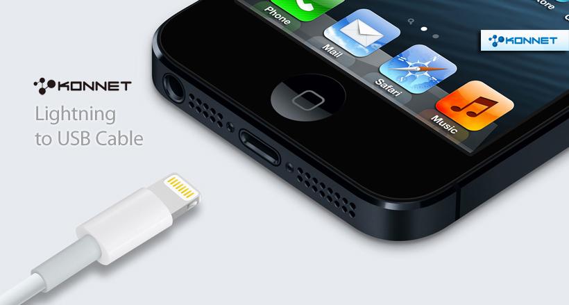Lightning-USB átalakító kábel (Konnet)