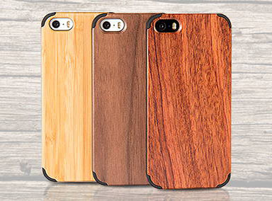 Natural Wood iPhone 5S/5 tok
