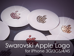 Swarovski Apple logo for iPhone