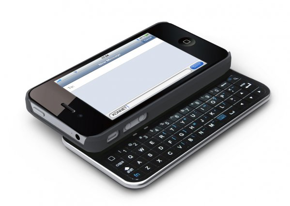 TouchEZ iPhone 4/4s tok qwerty billentyűzettel