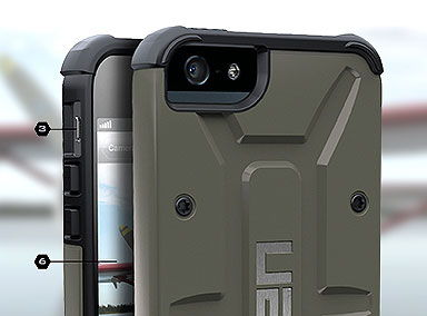 UAG Composite iPhone 5s/5 tok