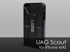 UAG Scout iPhone 4/4s tok