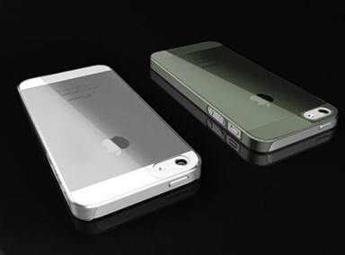 Zero 5 Ultra Thin Crystal iPhone 5S/5 tok