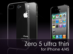 Zero 5 Ultra Thin iPhone 4/4s tok